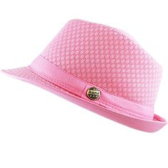 ee424b472030 THE HAT DEPOT, Light Weight Classic Soft Cool Mesh fedora hat, women's  fashion,