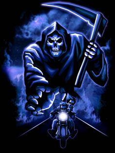 666 grim reaper | Blue Grimm Reaper with Sword_image