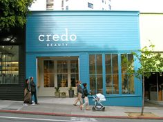 Credo's first store is located at 2136 Fillmore — and not by accident.
