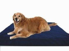 "Extra Large 40""X35""X4"" Orthopedic 100% Memory Foam Pad Pet Bed for Large Dog"