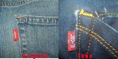 how to spot original Levi's jeans and fake - flipmantra.com