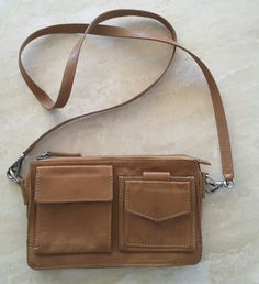 TUE 1/11/2016 Melbourne Cup, travel to Mums, Lunch out, time at Mums, travel home. Dinner prep and dinner at home.  Witchery caramel-coloured leather crossbody bag (eBay). Made in India. 23cm x 14cm approximately. Brushed silver hardware.