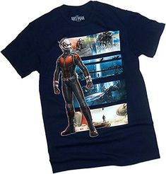 Cinematic Montage -- The Ant-Man -- Marvel Comics T-Shirt Large @ niftywarehouse.com