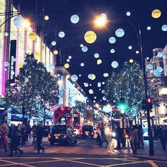 It's Christmas time, according to London's festive Oxford Street