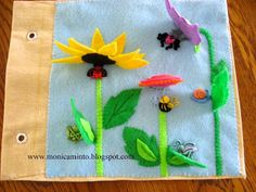 Fabric Art : More Quiet Book pages