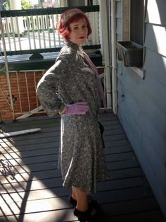 1920s repro day dress