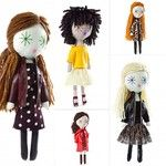Laloushka dolls up on the blog now  link in profile  #handmade #dolls #madeinpoland #laloushka #fashion #gift #inspiration #fashionista ... Handmade Dolls, Profile, Link, Anime, How To Make, Blog, Gifts, Inspiration, Art
