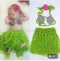 Newborn baby crochet hula hawaii grass skirt prop crochet outfit girl or boy costume  sc 1 st  Pinterest & Hula Skirt - Girls Hula Skirt - Hula Girl - Baby Hula Skirt ...