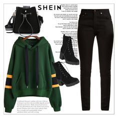 """""""SHEIN"""" by sabine-rose ❤ liked on Polyvore featuring Yves Saint Laurent"""