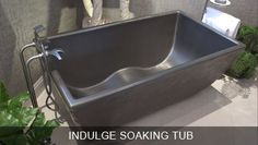 Pre-Cast Concrete Bath Tubs, Soaking Tubs, Ofuro, Double Wave Tub, See Photos