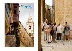 Our #CLUB50 #students discovering charming #Mdina and #Rabat . #LearnEnglish #Malta #DiscoveringMalta MORE PICS https://www.facebook.com/maltansts/photos/?tab=album&album_id=1152458291497966