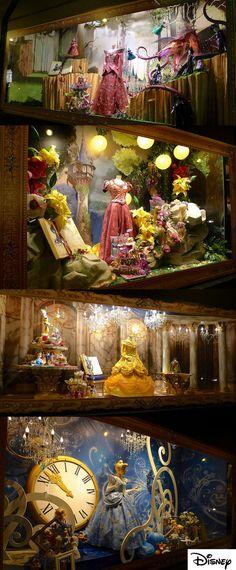 Admire las ventanas de las tiendas para Navidad en París, Londres y Nueva York.