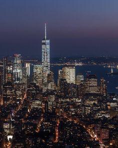 One world observatory NYC, photo by @afieldsnyc