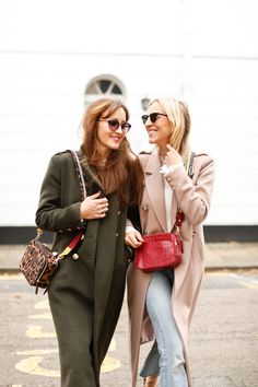 The Best Winter Coats - Belle & Bunty Blog   Winter, fashion, London, bloggers, style, outfits, military jackets, warm, statement, colour, animal print, faux fur, pattern, accessories