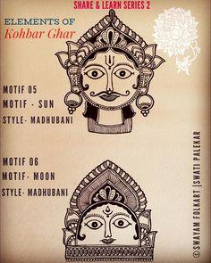 Saree Painting, Mural Painting, Figure Painting, Madhubani Art, Madhubani Painting, Traditional Paintings, Traditional Art, Phad Painting, Art Forms Of India