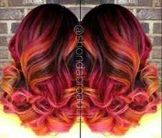 Awesome hair color mix
