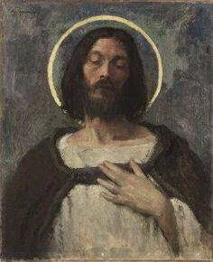 Christ by Gari Melchers