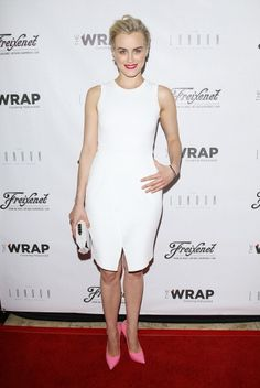 Fabulously Spotted: Taylor Schilling Wearing ALC - TheWrap's First Annual Emmy Party  - http://www.becauseiamfabulous.com/2014/06/taylor-schilling-wearing-alc-thewraps-first-annual-emmy-party/