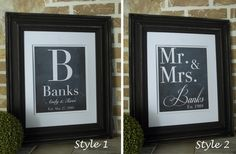 GroopDealz | Personalized Chalkboard Prints by Simply French Market.