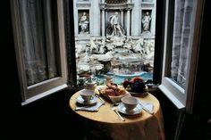 Desayuno en La Fontana...