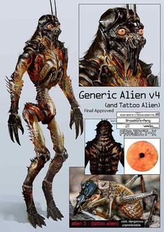 District 9 Prawn Alien Concept Art Creature Design
