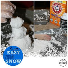 Sensory Snow - Me & Marie Learning