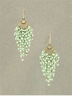 Minty Rella Chandelier Earrings | Awesome Selection of Chic Fashion Jewelry | Emma Stine Limited