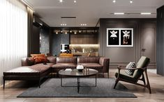 Apartment for a bachelor. on Behance