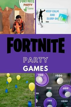 Fortnite Party Games