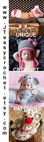 Free crochet beanie pattern for the sizes from newborn baby to adult is a beginner crochet pattern.