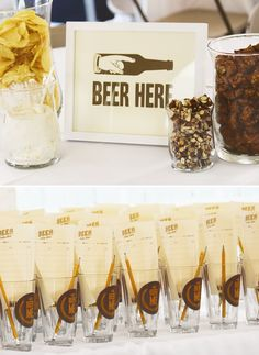 Clever 30th Backyard Beer Tasting Party // Hostess with the Mostess� by Subjects Chosen at Random