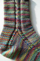 Ravelry: I'll walk my way socks by Mari-Liisa Varila Knitted Socks Free Pattern, Crochet Socks, Knitted Slippers, Knit Or Crochet, Knitting Patterns Free, Crochet Patterns, Loom Knitting, Knitting Stitches, Knitting Socks