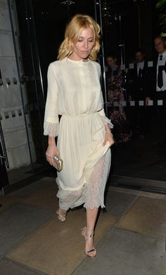 Sienna Miller out in London - Daily Actress
