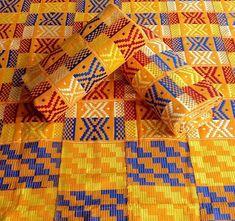 Kente Woven close/ Ghana kente Fabric/ Kente by Yard/ Tradition Kente/ African Print and pattern/ Kente woven cloth/ Kente Men shirt/ Kente/