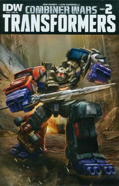 Transformers Vol 3 #40 Cover C Incentive Hasbro Combiner Wars Poster Variant Cover (Combiner Wars Part 2)