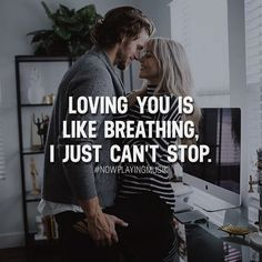 Loving you is like breathing, I just can't stop. Like and comment if you feel like this for someone! ➡️ @npmusik for more! #nowplayingmusik