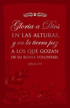 Gloria a Dios en las alturas... (TNV 232)