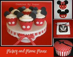Mickey and Minnie Mouse Birthday Party Ideas |