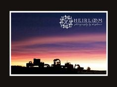 silhouette of machinery