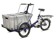 Helkama Industrial Bike Cargo E-Trike - Tricycle for adult - Butcher's bike | eBay