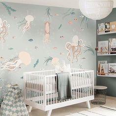 7 Ways Decorate an Ocean Themed Nursery — Alphadorable | Custom nursery art and decor