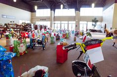 #TBT: (Throwback Thursday) to the rows of Angel Tree gift donations over Christmas. So cool to see the generosity of our church family!