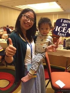 Ben is one of our youngest ICEA fans! This is his second conference.