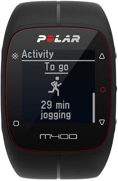 We love the Polar M400 GPS running watch. Read our review here!