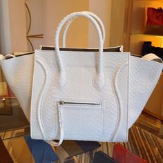I need this Celine bag in my life! Celine Handbags, Celine Bag, Luxury Bags, Luxury Handbags, Designer Handbags, Designer Bags, My Bags, Purses And Bags, Celine Micro Luggage