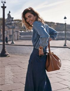 #AndreeaDiaconu by #BennyHorne for #VogueSpain February 2015
