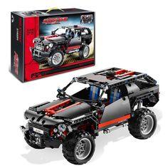 Decool 3341 Technic Extreme Cruiser Block Brick Toy Set Boy Game Car Off Roader Compatible with Lepin Sluban Bela LEGOelids 8081