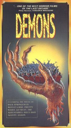Demons (1985) - Lamberto Bava / producción: Dario Argento