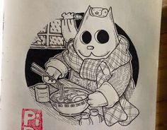 Misadventures of Ordinary Cats Cat Drawing, Working On Myself, New Work, Snoopy, Behance, Gallery, Cats, Drawings, Check