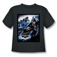 Batman Dark Knight Rises Batwing Rises Kids T-Shirt $14.99 http://pinterest.com/nfordzho/2013-fashion-t-shirts/